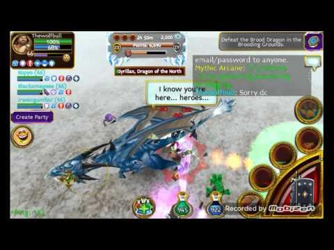 Arcane Legends Reaching Platinum Tier Winter Event