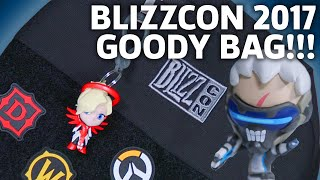 BlizzCon 2017 Goody Bag Unboxing   Overwatch, Hearthstone, World of Warcraft & More!