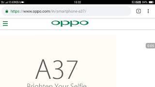 Latest Software Version for OPPO A37 Version No.:A37fEX_11_A.28_171008  Size:1331M  Update Date: