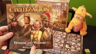 Civilization: The Board Game - Gameplay Runthrough - Part1