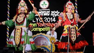 Yakshagana Abhimanyu Kalaga by Puthige R Holla team at LYC 33
