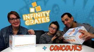 LE FAIL ULTIME ! Ouverture box Infinity Crates | Family Geek
