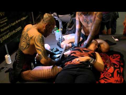 Amsterdam tattoo convention 2011: Traditional tattooing