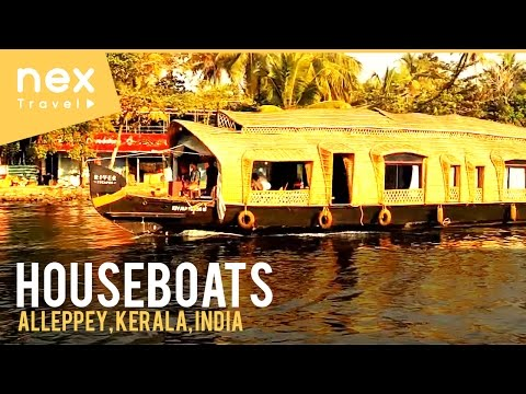 Kerala, Alappuzha (Alleppey) Houseboats - Kerala Tourism - India