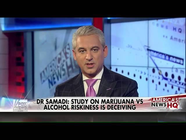 Study indicates marijuana less harmful than alcohol