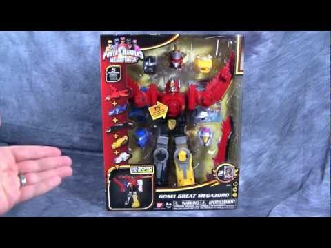 Gosei Great Megazord - Power Rangers Megaforce