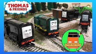 PAXTON AND GRUMPY DIESEL! NEW 2018 Bachmann Trains Thomas and Friends