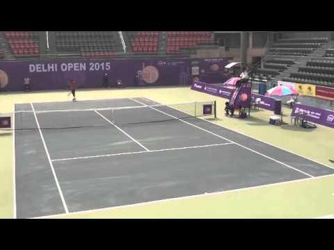 Somdev Dev Varman vs Sanam Singh, Delhi Open 2015