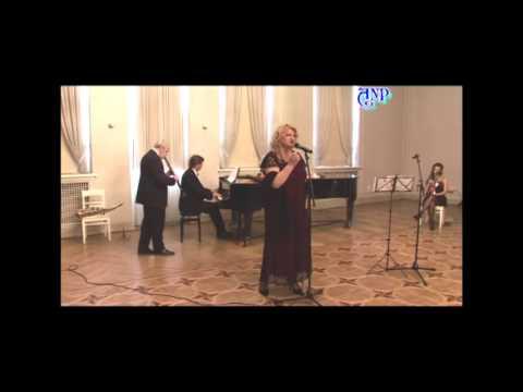 """Романс Нелли Хакель ст. А. Гузика """"Париж-Москва"""" 2012"""