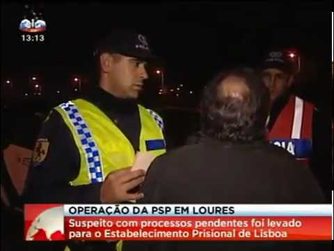 Operao da PSP em So Joo da Talha, Bobadela e Santa Iria da Azia
