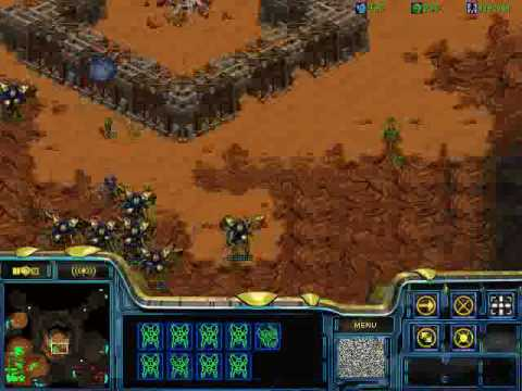 Starcraft protoss vs zerg pro rus part2 Мастер-класс ЛКИ