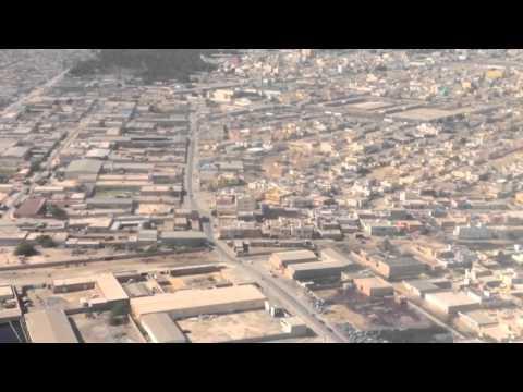 Landing in Nouakchott