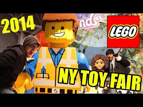 NYC Toy Fair 2014 - LEGOS!