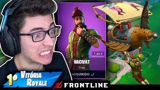 COMPREI A NOVA SKIN DO GNOMO E MATEI GERAL! Fortnite: Battle Royale