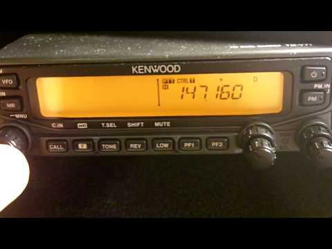 Kenwood TM-V71 - how to program a memory channel