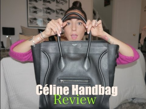 Handbag Review Nº3 | Céline Luggage Tote | SoTotallyVlog