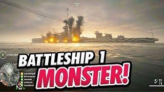 SCHLACHTSCHIFF! - Erstes Battlefield 1 Dreadnought Battleship Behemoth Gameplay
