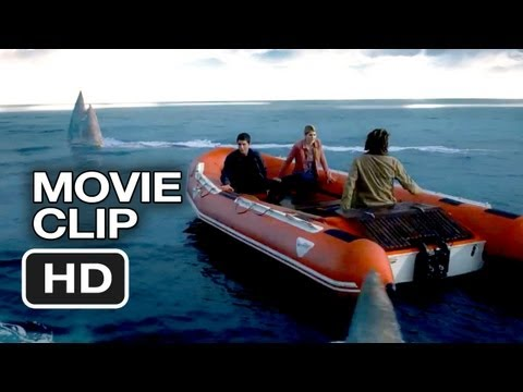 Percy Jackson: Sea of Monsters Movie CLIP – Those Aren't Sharks (2013) – Logan Lerman Movie HD