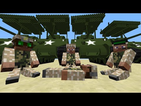 Minecraft: WORLD WAR II. FLANS MOD! (TANKS. PLANES. CARS) - Mod Showcase!