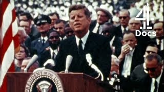 John F. Kennedy's Passionate Speech About Sending People to the Moon