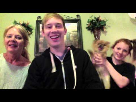 PSY Gentleman Audio Reaction with Family