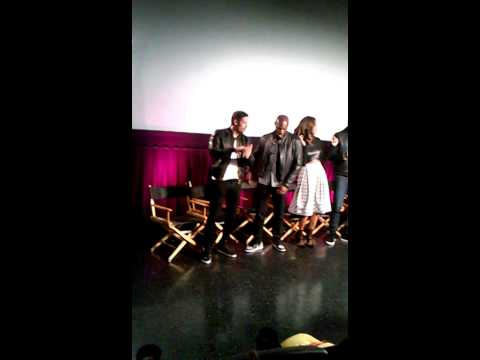 William Levy at Addicted movie LIVE Q&A dancing
