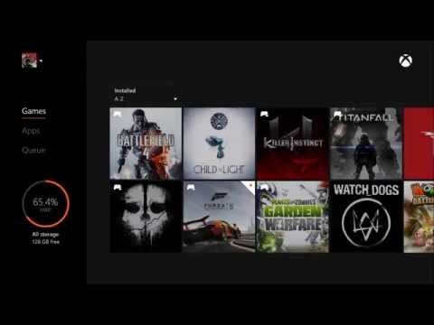 شرح حذف لعبه من جهاز الأكس بوكس ون وإعادة تحميلها  Delete / Uninstall Games on Xbox One