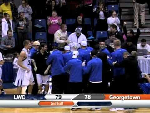 Full Court Buzzer Beater (Chase Spreen) Lindsey Wilson College vs. Georgetown