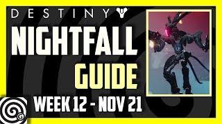 Destiny 2 - Prestige Nightfall Guide: The Pyramidion (Week 12, Nov 21)