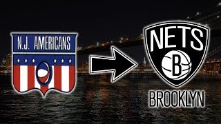 Brooklyn Nets Franchise History Logo Evolution