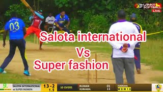 Super Fashion vs Salota international Full Highlights 10/01/2021
