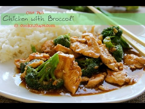 One Pan Chicken with Broccoli in 30 Minutes