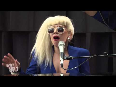 "Lady Gaga ""You And I"" (Live at Amp Radio)"