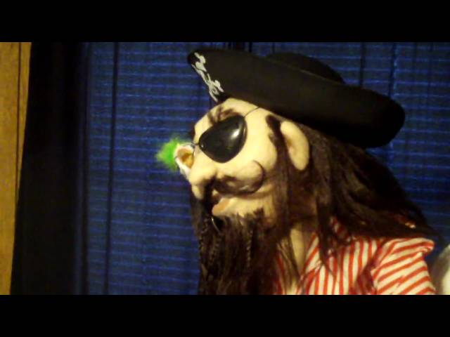 The Dummy Shoppe/Puppets by JET presents &quot;Captain Jacque Finch&quot;