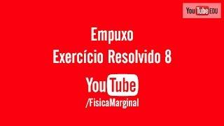 Empuxo - exercício resolvido 8