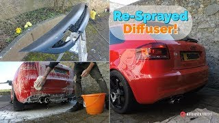 Re-Spraying My Diffuser! & New Mod! - Audi A3 8P