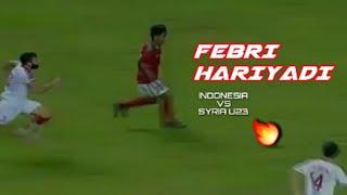 Skill Dewa 🔥 Febri Hariyadi Timnas Indonesia Vs Syria U23