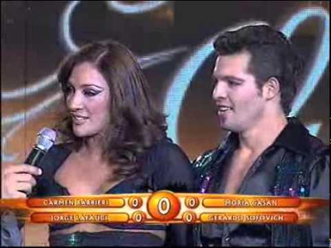 Showmatch 2008 - La performance de Eunice Castro