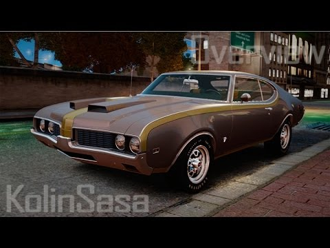 Oldsmobile Cutlass Hurst 442 1969 v1