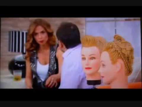 רומן רובין, מנהל האקדמיה לעיצוב שיער מוטיה רובין בתוכנית עם אורנה דץ