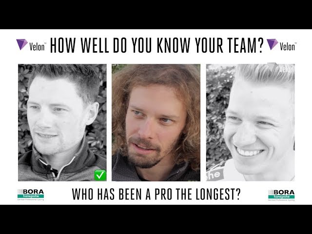 Velon39s 2019 Team Quiz BORA-hansgrohe