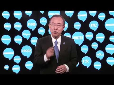 World Humanitarian Day 2013 - UN Secretary-General Ban Ki-moon