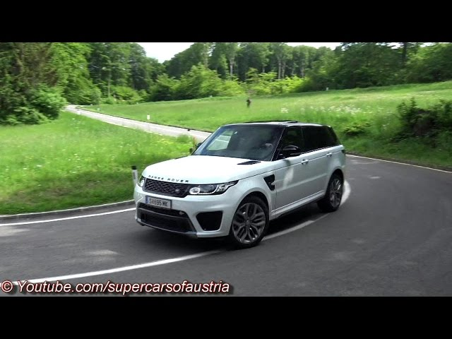 Range Rover Sport SVR SOUND - Accelerations, Revs ...