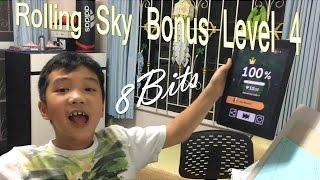 Rolling Sky Bonus Level 4 - 8Bits (Who can do like Adam-100% Winner!)