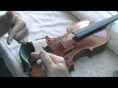 Resurrect a Fallen Bridge on your Violin or Viola