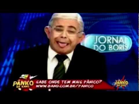Jornal Do Boris No Pânico Na Band 06/05/2012