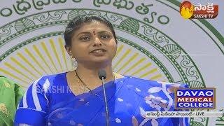 MLA Roja Power Punches to Chandrababu | సభా మర్యాదల గురించి నువ్వా మాట్లాడేది బాబు...