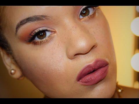 Subtle Fall Makeup Tutorial  Allis Peguero