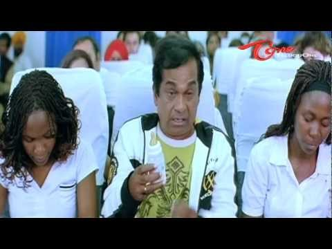 Brahmanandam Comedy Scene In Aeroplane video