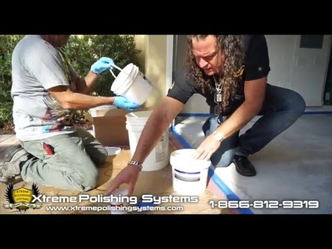 How to do a Garage Epoxy Glitter Floor